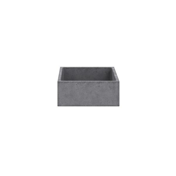 Concrete Basin_Square_Centre(White)