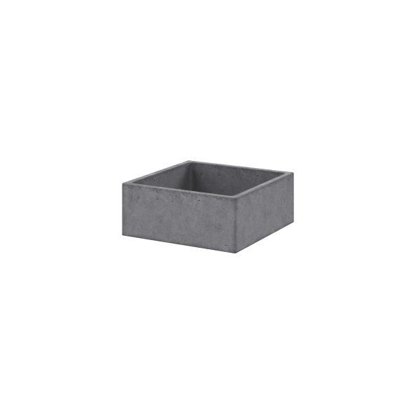 Concrete Basin_Square_Right(White)