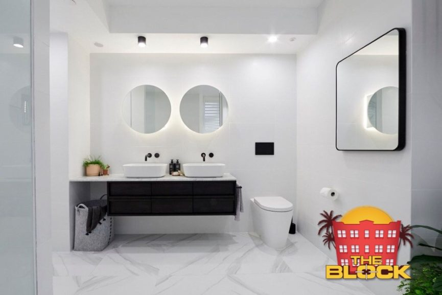 The Block 2018 Kerrie Amp Spence Main Bathroom Rifco